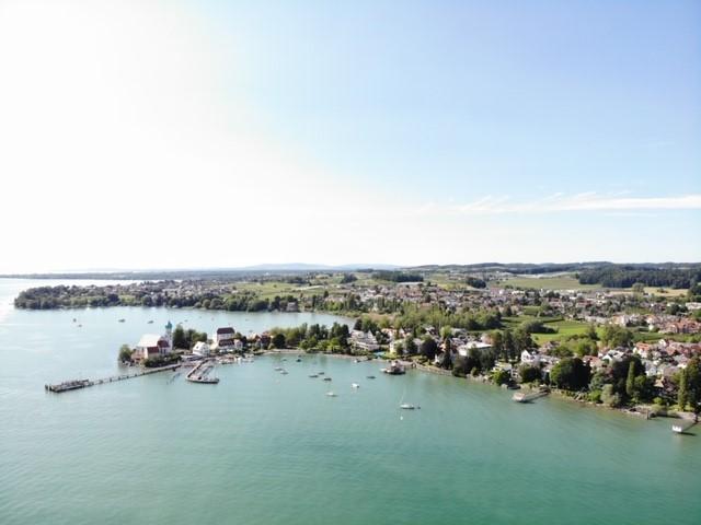 Drohnen Aufnahme Wasserburg